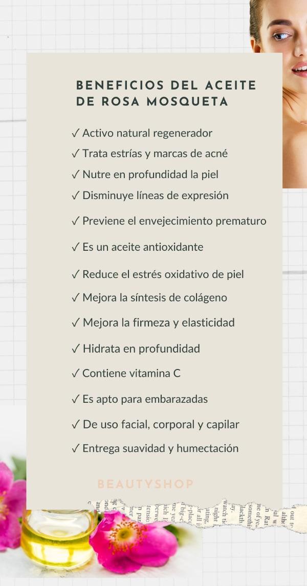 Beneficios del Aceite de Rosa Mosqueta